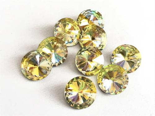 CRYSTAL/ YELLOW 12mm