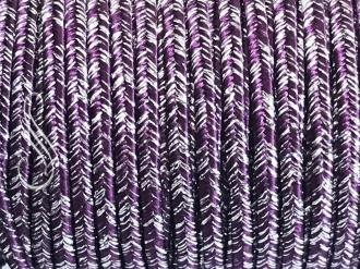 sutaška IMPERIAL PURPLE /SILVER 3 mm/1m